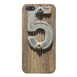 Nr. 5 auf Holz Hülle Fürs iPhone 5