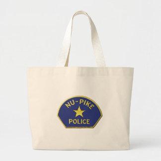 NU-Pike Polizei Jumbo Stoffbeutel