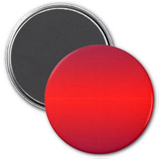 Nukleare rote Steigung - Runder Magnet 7,6 Cm