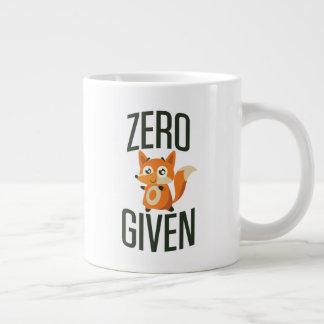 Null Fox gegebene Tasse des Kaffee-20oz Jumbo-Tasse