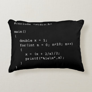 Numerische Programmierung Zierkissen