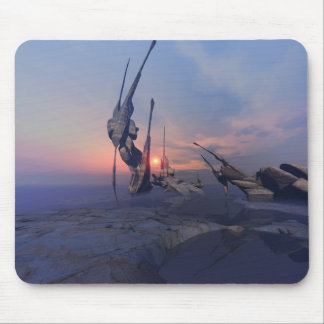 Numinous Platz - mystisches Sonnenuntergang mousep Mousepads