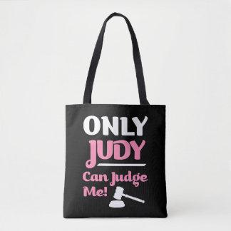 Nur Judy kann mich beurteilen lustige Tasche