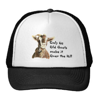 Nur wir alte Ziegen machen es über dem Hügel-Gebur Retro Cap