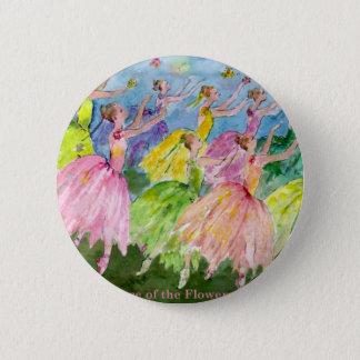 Nussknacker-Tanz der Blumen Runder Button 5,1 Cm