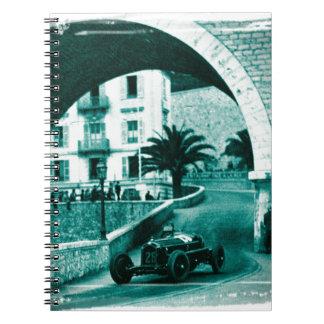 Nuvolari at the 1932 Monaco Monaco Prix Notizblock