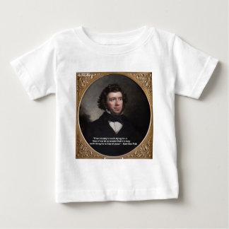 NY reg. Hamilton Fisch-Klugheits-Zitat-Geschenke Baby T-shirt
