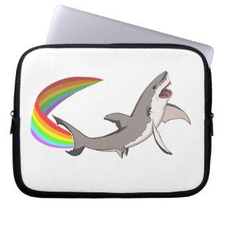 Nyan Haifisch-Laptop-Hülse Laptop Schutzhülle