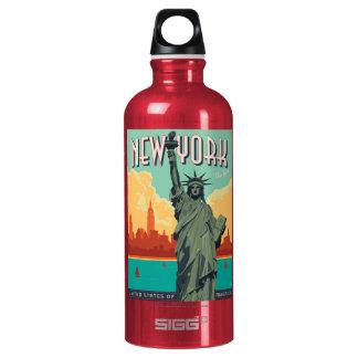 NYC - Dame Liberty Wasserflaschen