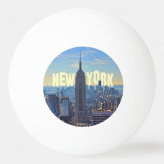 NYC Skyline-Reich-Staats-Gebäude, Welthandel 2C Tischtennis Ball