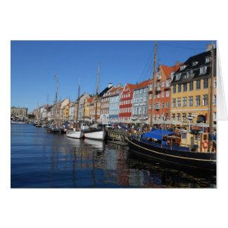 Nyhavn, Kopenhagen in Dänemark Karte