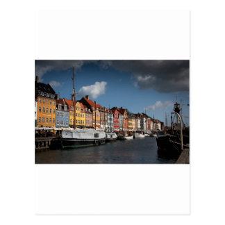 Nyhavn, Kopenhagen Postkarte