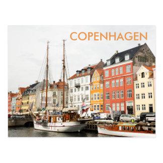 Nyhavn, Kopenhagen-Reise-Postkarte Postkarte