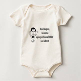 Obama - als ich jung war baby strampler