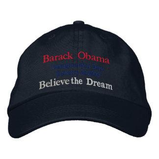Obama-Einweihungs-Tages_2009 gestickter Hut Bestickte Baseballmütze
