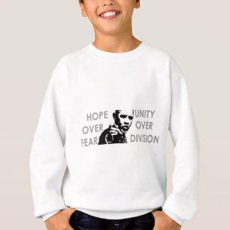 Obama-Hoffnung über Furcht Sweatshirt