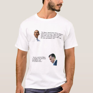 Obama oder Romney T-Shirt