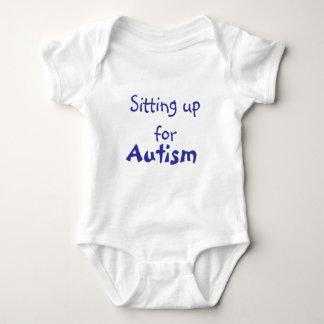 Oben sitzen für Autismus!! Baby Strampler