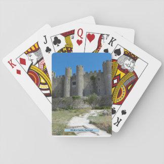 Óbidos Schloss, Portugal Spielkarten