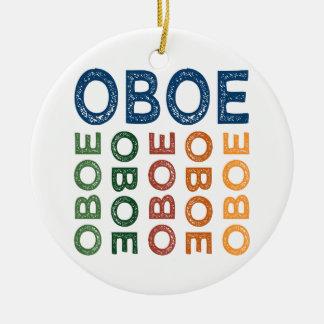 Oboe bunt keramik ornament