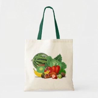 Obst und Gemüse Tragetasche