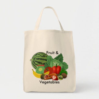 Obst- und GemüseLebensmittelgeschäft Tragetasche