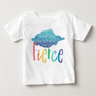 Obwohl sie aber wenig ist, ist sie heftig baby t-shirt