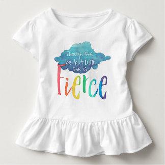 Obwohl sie aber wenig ist, ist sie heftig kleinkind t-shirt