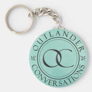 OC-Logo Keychain - Blau Schlüsselanhänger