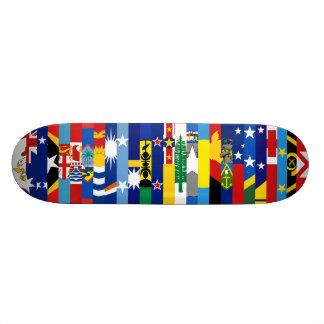Oceanian kennzeichnet Skateboard Individuelle Decks