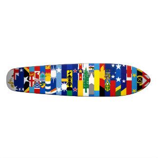Oceanian kennzeichnet Skateboard Personalisiertes Skateboard
