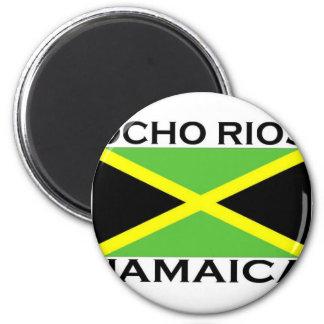 Ocho Rios, Jamaika Runder Magnet 5,1 Cm