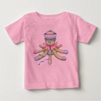 OCTOPUSS BABY NIEDLICHER Baby-Geldstrafe-Jersey-T Baby T-shirt