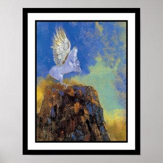 Odilon Redon Pegasus - griechische Poster