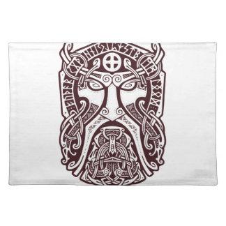 Odin stellen gegenüber stofftischset