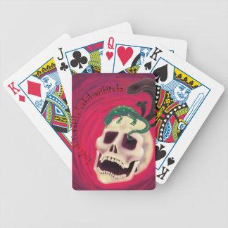 OfenSchädel Pokerkarten