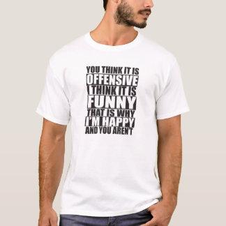 Offensives lustiges Shirt