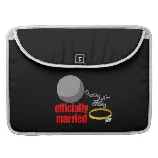 Offiziell verheiratete MacBook Prohülsen Sleeve Für MacBooks