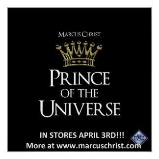 Offizieller Prinz 2018 des Universum-Plakats Poster