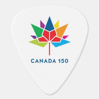 Offizielles Logo Kanadas 150 - Mehrfarben Plektron