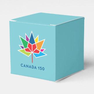 Offizielles Logo Kanadas 150 - Mehrfarben- und Geschenkschachtel