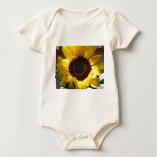 Öffnen Sie Sonnenblume Strampelanzug
