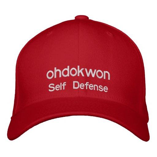 Oh tun Sie Kwon gestickten Hut Baseballmütze