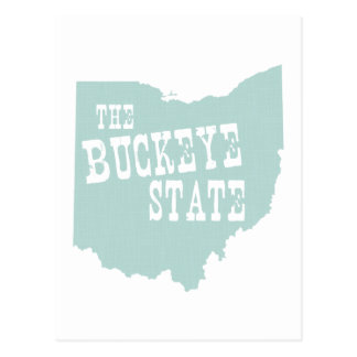 Ohio-Staats-Motto-Slogan Postkarte