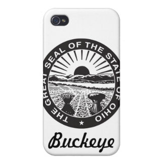 Ohio-Staats-Siegel und Motto iPhone 4/4S Case