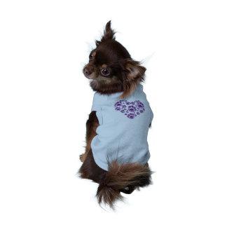 Ohne Ärmel Doggie TravelPet Rillt Unterhemd Ärmelfreies Hunde-Shirt