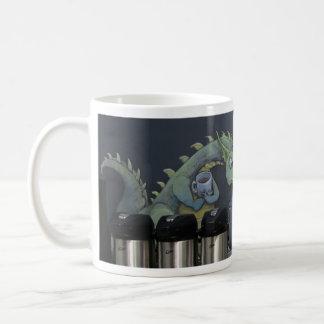 ohne meinen Kaffee bin ich Drache Tasse