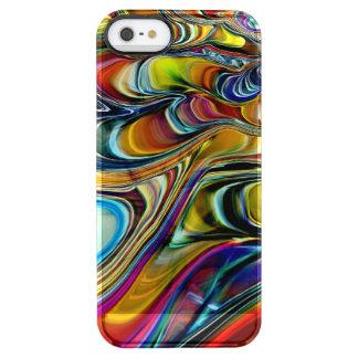 Ohrschnecken-Muschel abstrakt Durchsichtige iPhone SE/5/5s Hülle