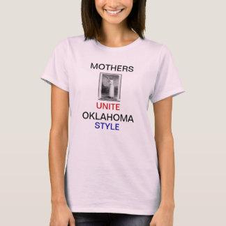 Oklahoma-Mutter schießt Eindringlings-Shirt-Shirts T-Shirt