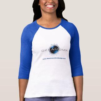Oklahoma-Netz-Entwurf T-Shirt